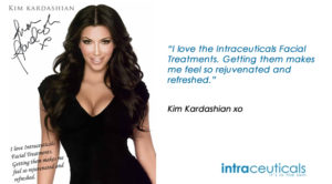 Ким Кардашян процедура intraceuticals