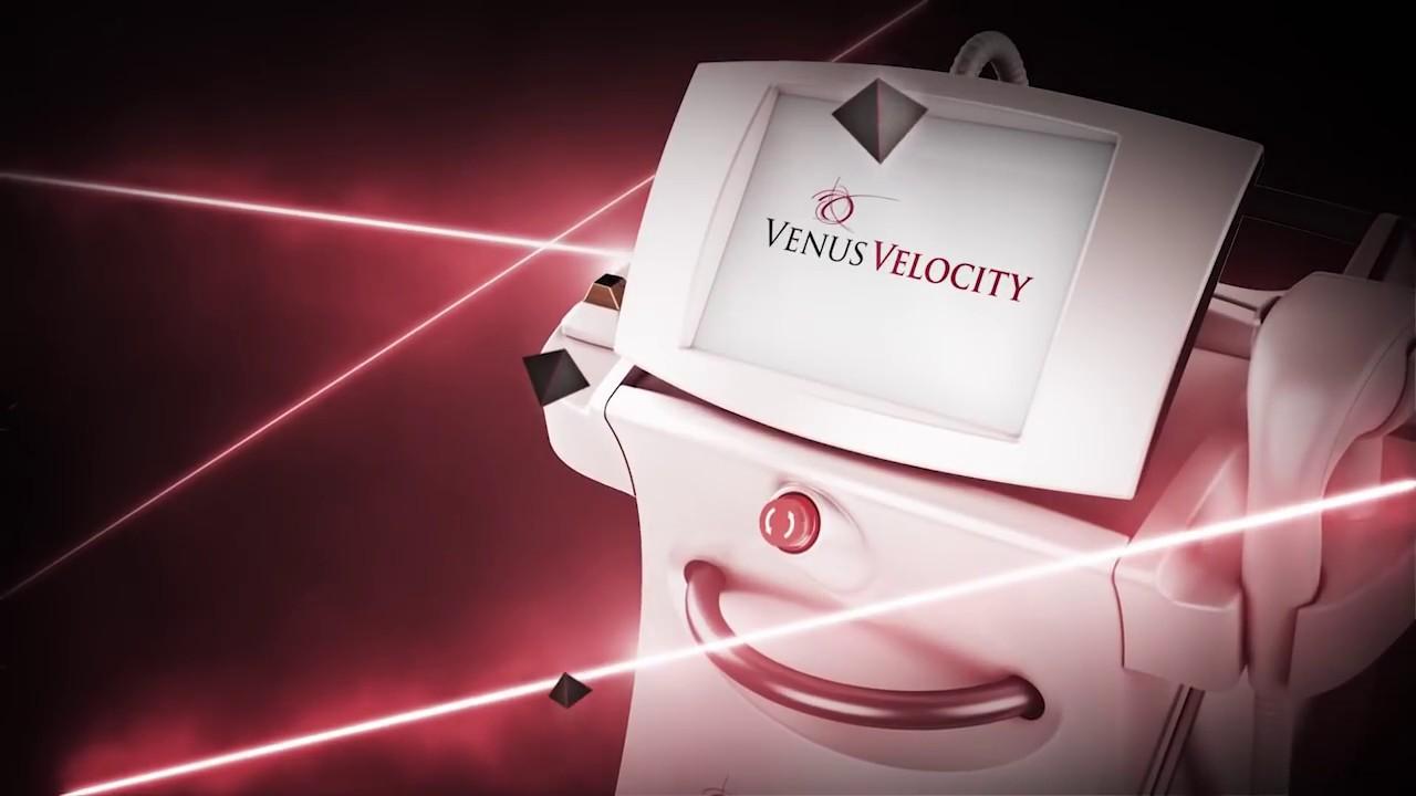 Лазерна епилация Venus Velocity